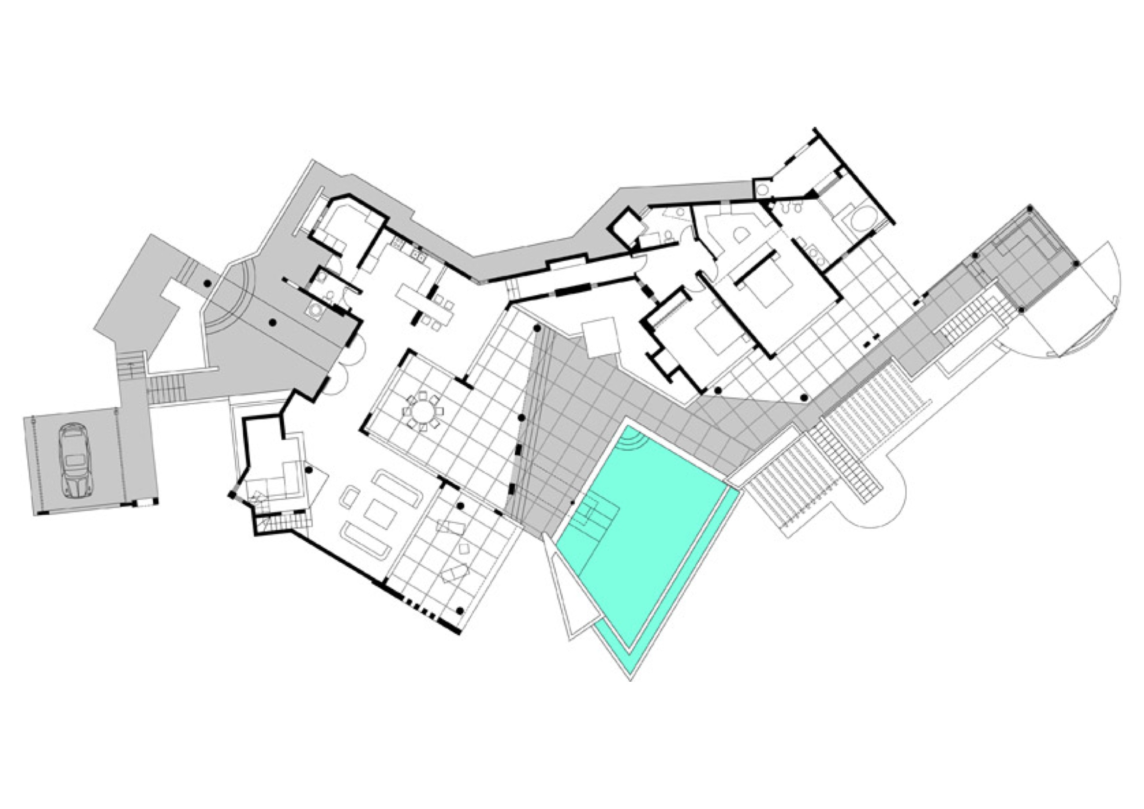 Villa belle de nuit caribbean estate agency for Plan de villa